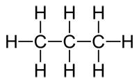 c3h8 propane molecule a three carbon alkane propane is sometimes    Molecular Structure Of Propane