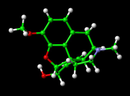 Fioricet With Codeine. The Codeine Molecule