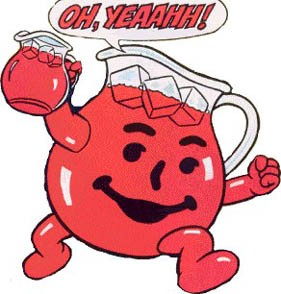Kool aid soft drink for Kool aid man coloring pages