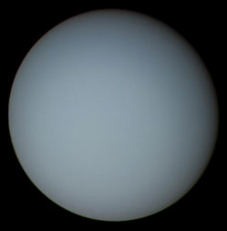 Uranus as seen from Voyager 2