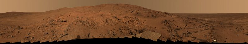 Panorama from the Mars Rover 'Spirit'