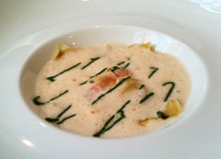 Bistro Gourmand -Gambas Ravioli