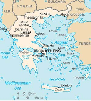Travel To Greece Educational Travel Guide