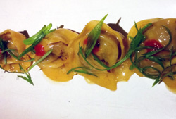oxtail dumplings Tar and Roses